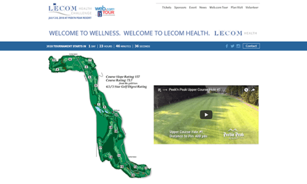 48 hours until golf balls fly at LECOM Health Challenge