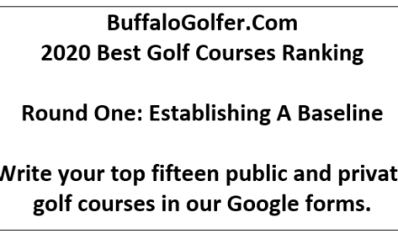 BuffaloGolfer's Best Courses 2020 Rankings