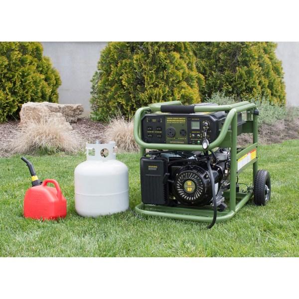 Sportsman 10 000 Surge Watt Tri Fuel Generator