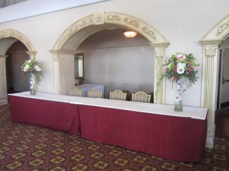 Salvatore's Wedding Reception Flowers Lancaster, NY