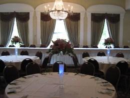 Samuel's Grande Manor Wedding Reception Flowers Williamsville NY