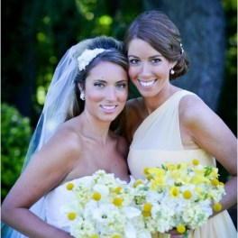 Yellow Wedding Flowers Park Country Club