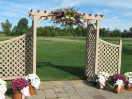 Flowers by Lipinoga Florist of Clarence NY for Wedding at Timberlodge in Akron NY (25)