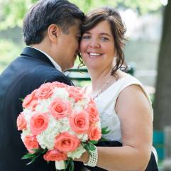 Buffalo Wedding Bridal Bouquet by Lipinoga Florist (5)