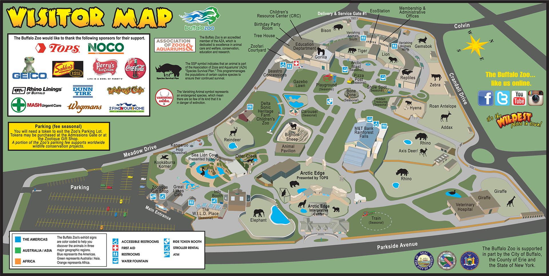 Buffalo Zoo Visitor Info