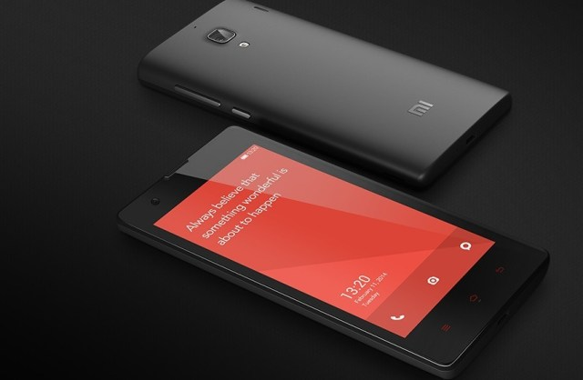 redmi 1s front bank