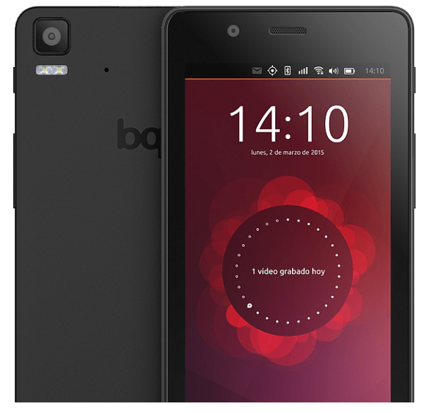 BQ ubuntu edition smartphone Aquaris E4.5 and Aquaris E5