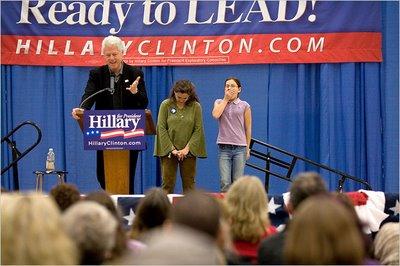 Bill Clinton speech for Hillary\'s campaign