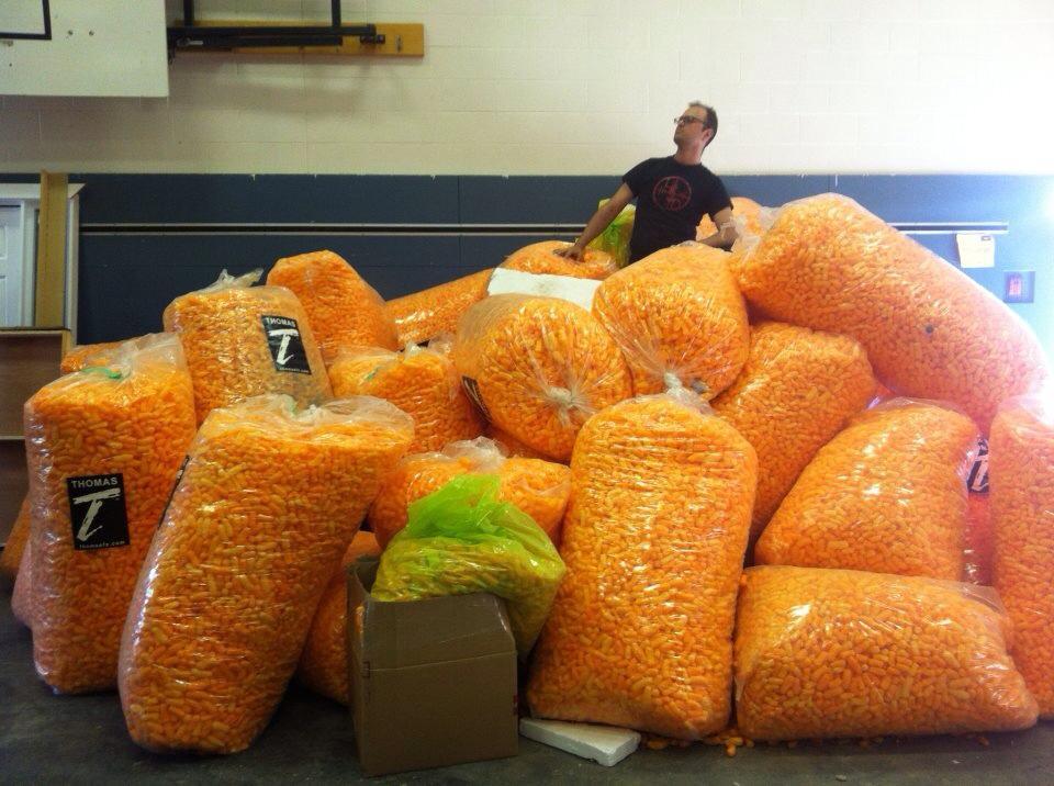 world record birthday cheetos
