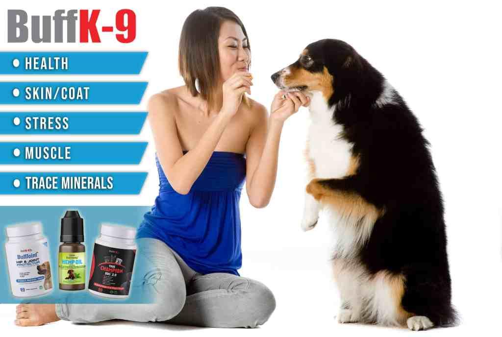 best dog food supplements buff k9 vitamins