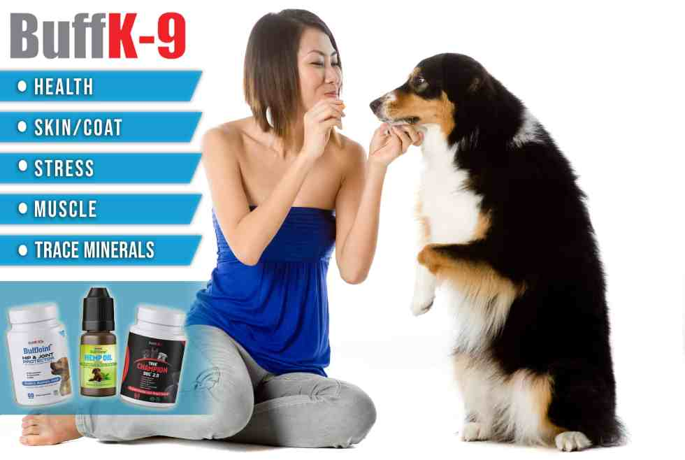 best dog food supplements buff k9 vitamins