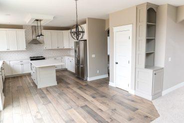open concept floor plan