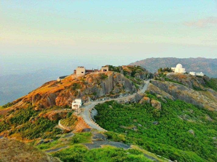 Aerial view in Mount Abu