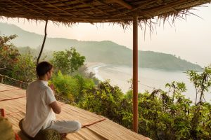 SwaSwara Ayurveda and Yoga on Om Beach_meditation hill (2)