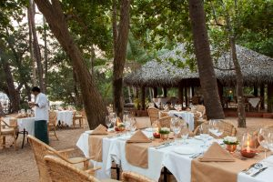 SwaSwara Ayurveda and Yoga on Om Beach_outdoor dining (2)