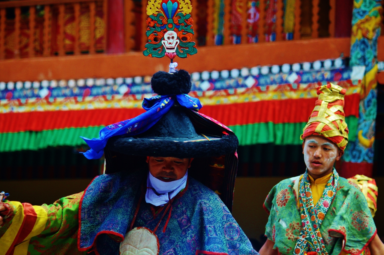 Read more about the article Our trip to the Hemis Monastery
