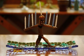 Menorah Man!