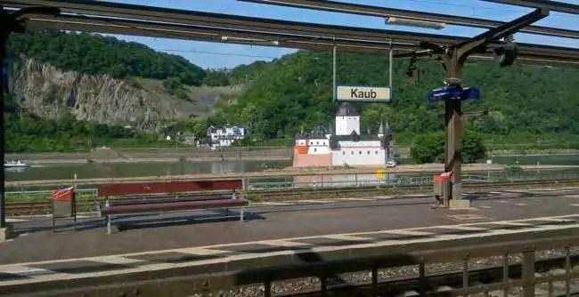 Zustand des Bahnhofs in Kaub. (Foto: RMP)
