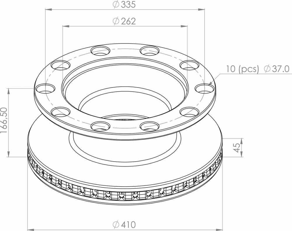 medium resolution of 5010598309 brake disc part for renault