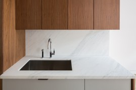 Silver Onyx kitchen countertop