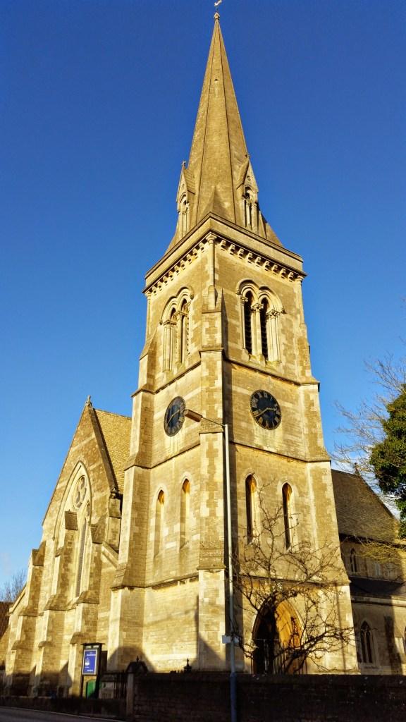 St.Paul's church Chippenham Wiltshire