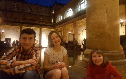 The Roman Baths Bath Somerset