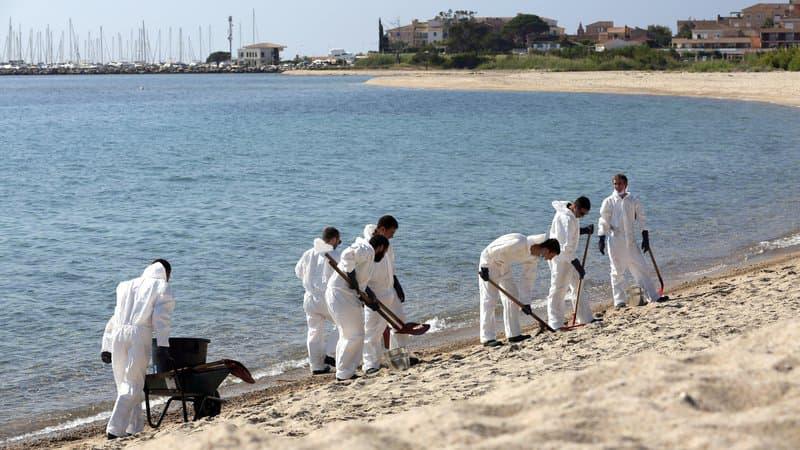 Corse: les moyens mis en oeuvre pour retrouver le responsable de la pollution aux hydrocarbures