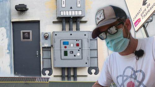 Saint-Etienne : OAKOAK le street artiste maître du détournement