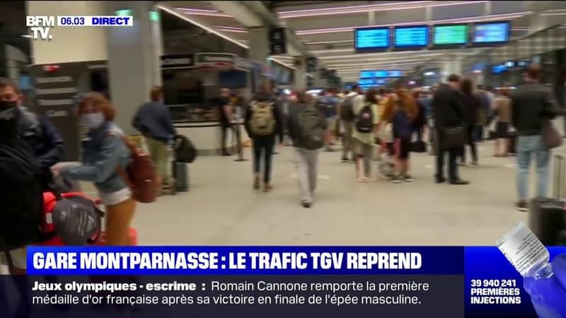 Accident sur un chantier SNCF: nouvelles perturbations à la gare Montparnasse ce matin