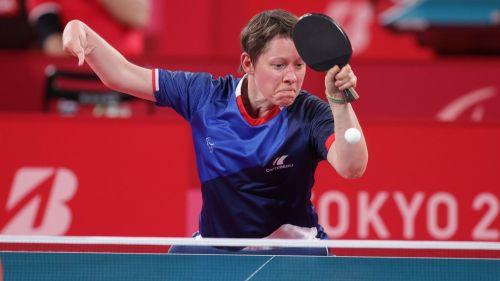 Jeux Paralympiques de Tokyo : minimum le Bronze pour la pongiste Anne Barnéoud qui s'est qualifiée en demi-finale
