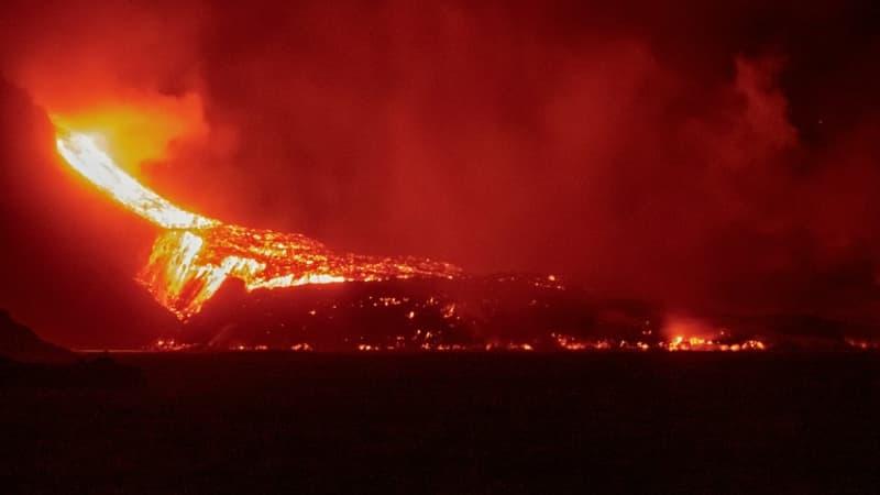 A La Palma, l'éruption du volcan ne faiblit pas, une cinquantaine de séismes recensés