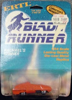 Rachael's Spinner from Bladerunner