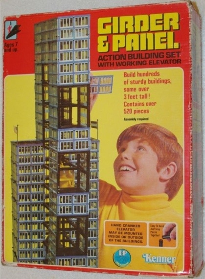 Kenner Girder and Panel Set
