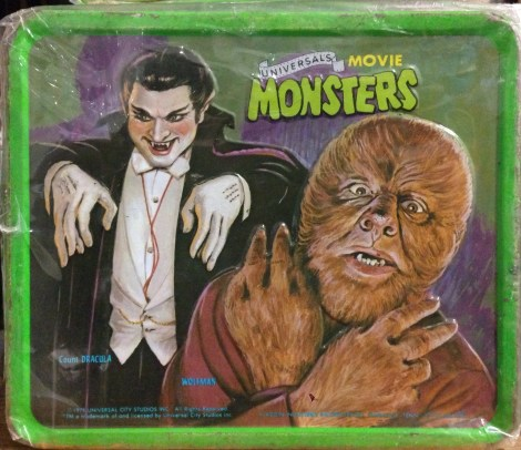 Universal Monsters Lunch Box