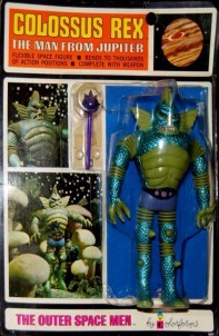 Outer Space Men Colossus Rex