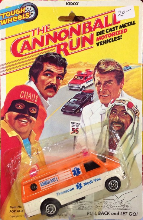 Cannonball Run Toys
