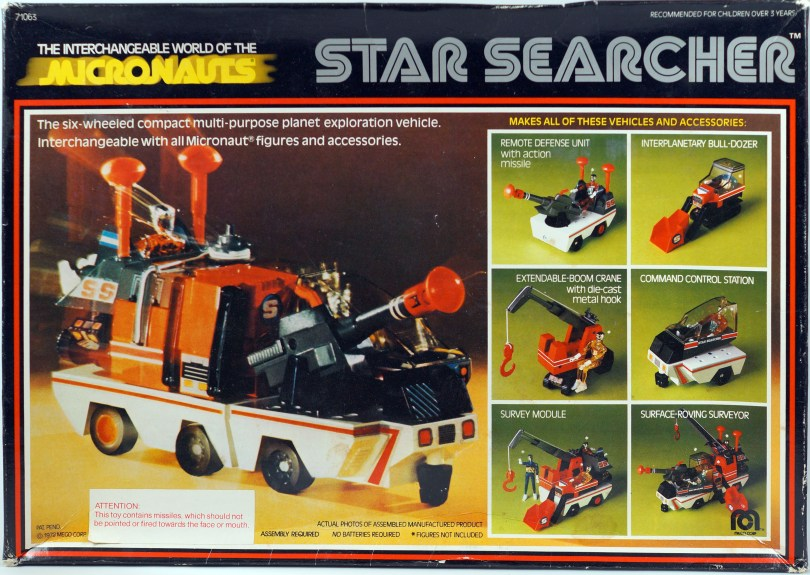 Micronauts Star Searcher Box