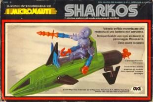 Mego Micronauts Sharkos