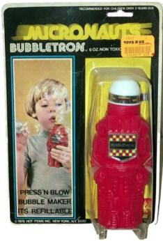 Micronauts Bubbletron