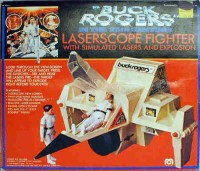 Buck Rogers Laserscope Fighter Box