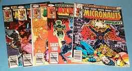 Micronauts Comics