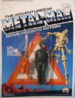 Zee Toys Metal Man Corporal Chrome