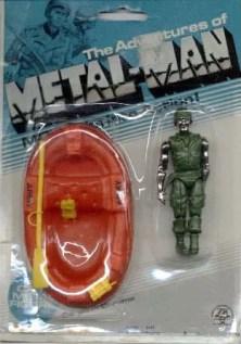 Zee Toys Metal-Man Corporal Chrome