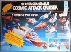 Inter-Changeables Cosmic Attack Cruiser