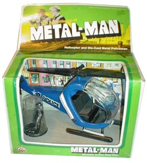 Zee Toys Metal-Man Helicopter