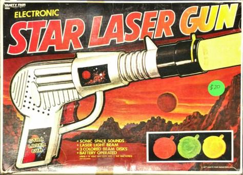 Electronic Star Laser Gun