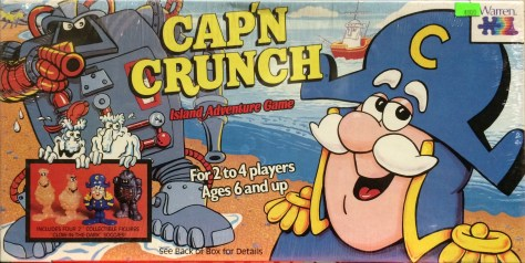 Cap'n Crunch Board Game