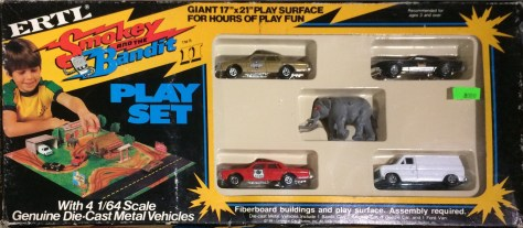 Smokey and the Bandit Playset