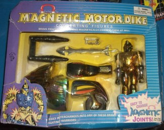 Knock Off Red Falcon Biker