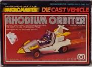 Mego Micronauts Rhodium Orbiter Boxf